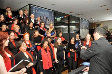 Coral OAB/CAASP celebra o Natal na sede da Caixa de Assistência