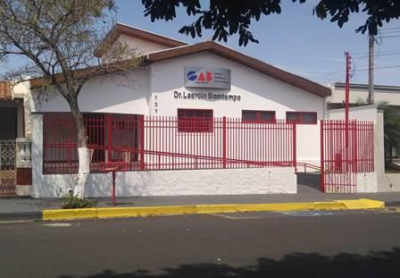 Fachada da nova Casa da Advocacia e da Cidadania de Mirandópolis