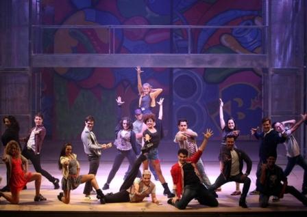 Encenação de peça teatral musical