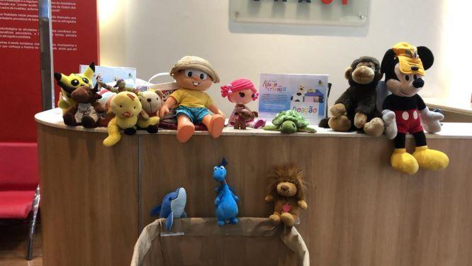 Brinquedos e roupas no Dia da Criança: advocacia já faz doações para ação social da CAASP