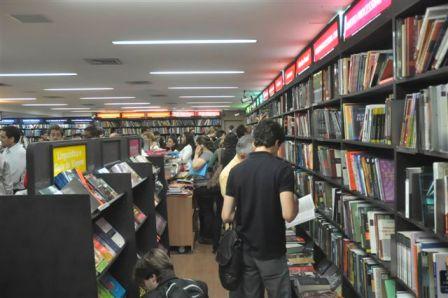 Entrada da livraria central da CAASP