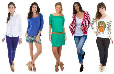 Modelos posam com roupas da Zattini