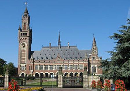 Palácio da Paz. em Haia, Holanda
