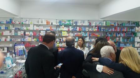 Advogados na farmácia da Regional