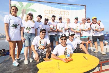Esporte, natureza e saúde: advocacia comemora em Santos a volta do Circuito de Surfe