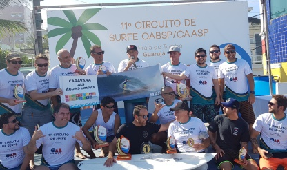 Etapa do Guarujá fecha Circuito de Surfe OAB-CAASP 2019
